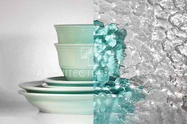Impresso textured glass
