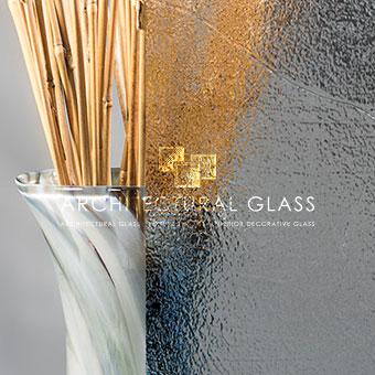 Close up of Etre Pattern Glass