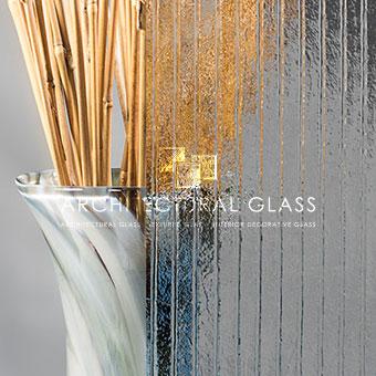 Close up of Ima Pattern Glass
