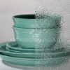 Wissmach dew drop pattern glass