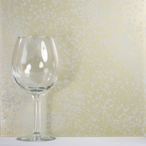 gold glass sample