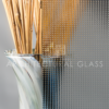 Geometric pattern glass