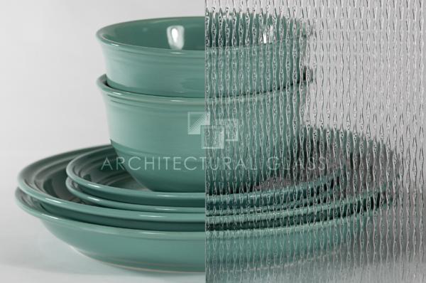Ultra luz pattern glass