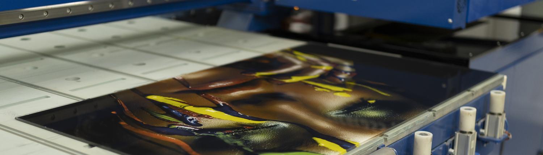 digitally printed glass