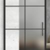 8 lite printed glass door